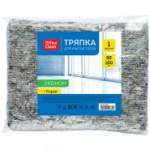 "Тряпка для мытья пола OfficeClean ""Эконом"", 80*100см, 80% хлопок, 20% п/э, 246347"